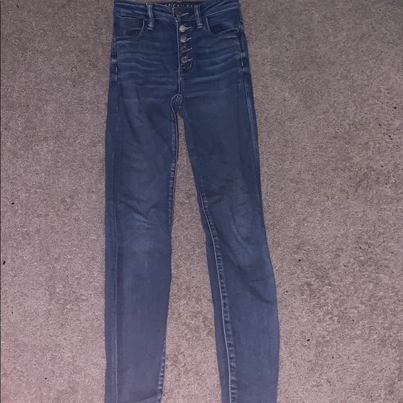 American Eagle Outfitters Denim - Blue American Eagle Jeans